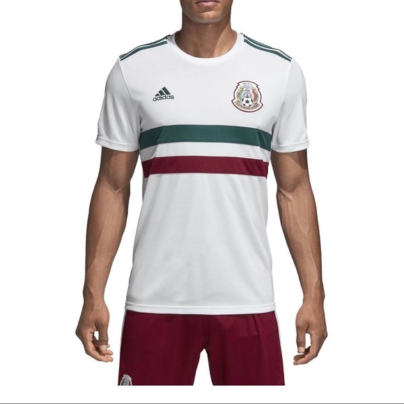 Brand new adidas Mexico soccer jersey white